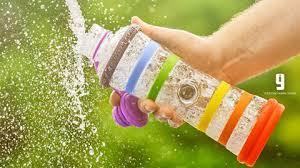botella agua informada
